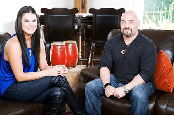 Jay Glazer with wife michelle graci