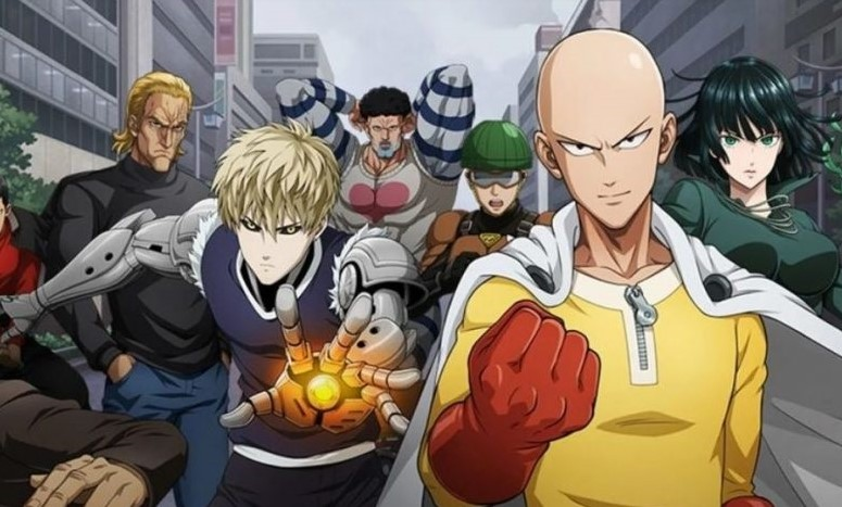 One Punch Man must watch anime