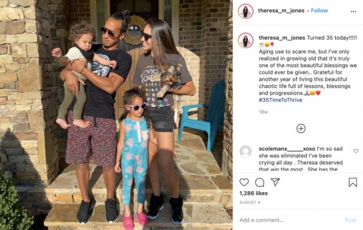 Theresa Jones Husband: Does she has Kids?