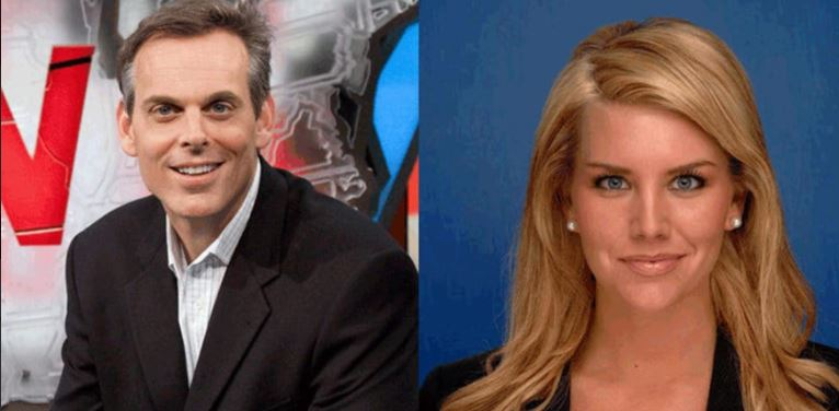 Colin Cowherd with ex wife Kimberly Ann Vadala