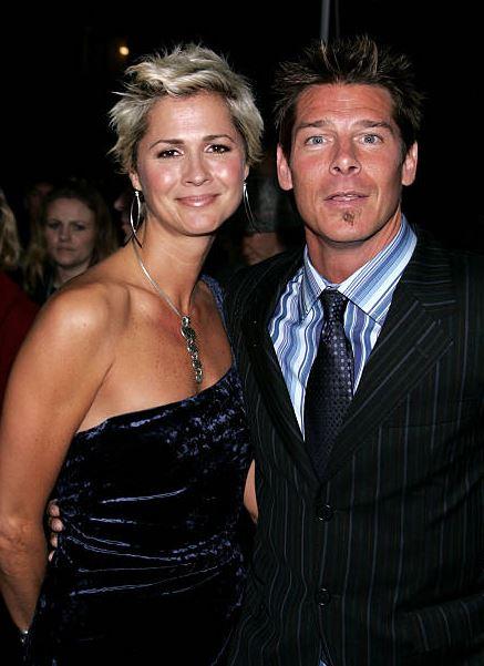 Ty Pennington with girlfriend Andrea Bock