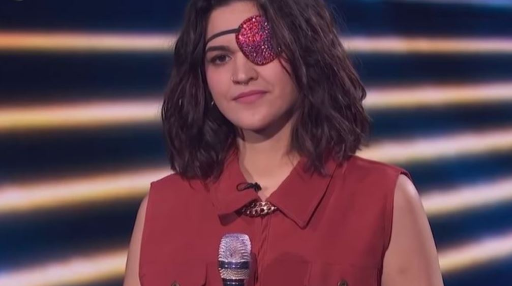 Andrea Valles Eye Patch