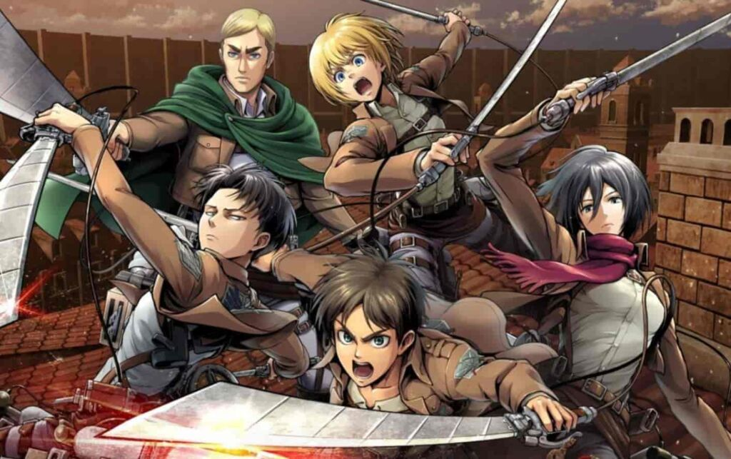 Attack on 'titan is #1 anime