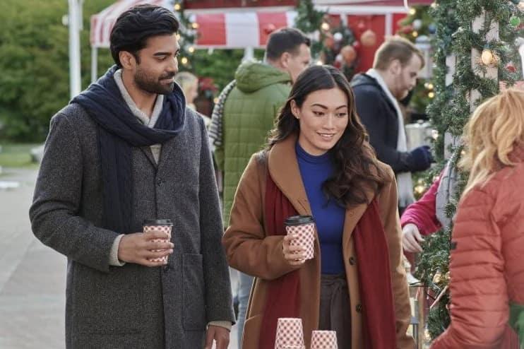 Where was Boyfriends of Christmas Past filmed?